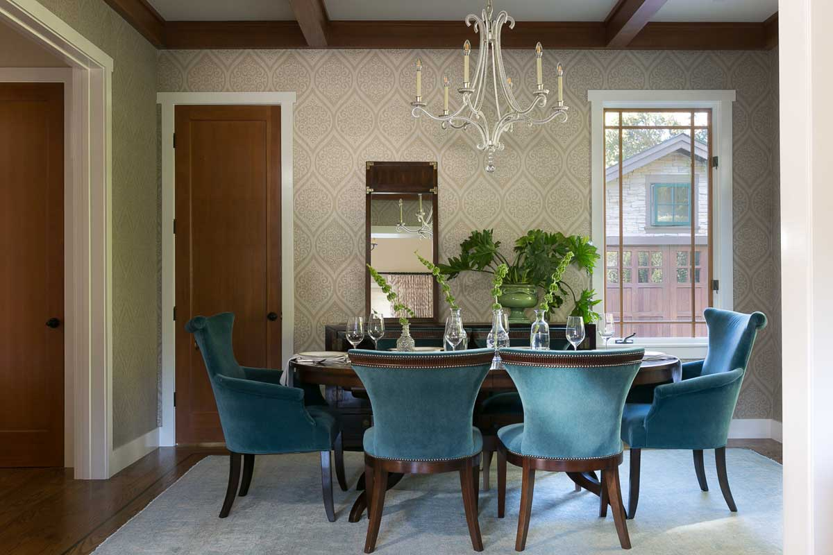 Johnston Home, Transitional Craftsman, dining room