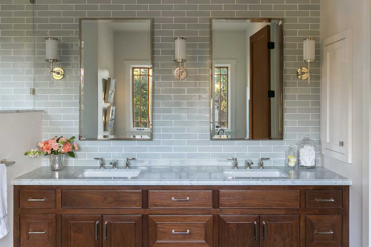 Johnston Home, Transitional Craftsman, bathroom